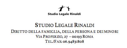 Avvocato Piergiorgio Rinaldi separazione divorzio Roma